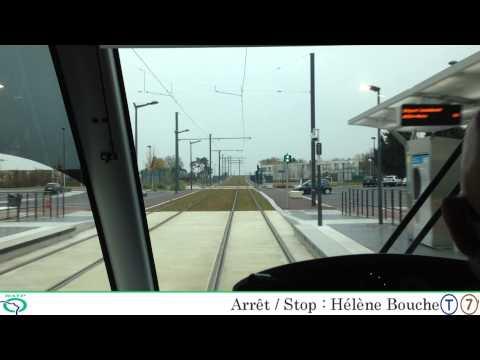 Tramway T7 De Porte De Rungis à Athis-Mons Part 2/2