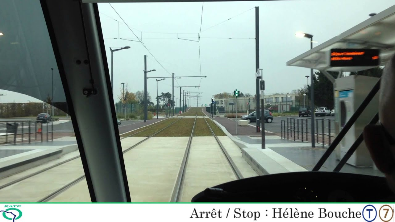 Tramway t7 de porte de rungis athis mons part 2 2 youtube - Piscine porte de l essonne ...