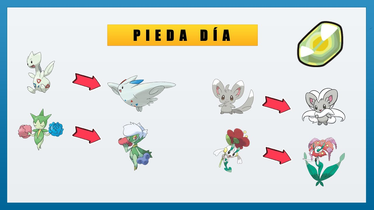 Pokémon that EVOLVES by SHINY STONE [🌄🌄🌄🌄🌄] - YouTube