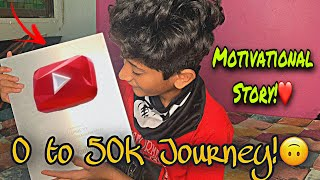 0 to 50k Journey!🔥 | Motivational Story Time Video!❤️ | Vampire Extra