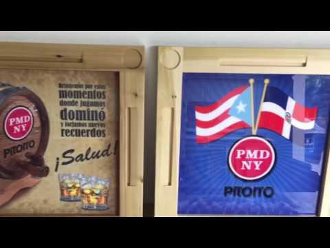 Domino Sam for Port Morris Distillery  Pitorro
