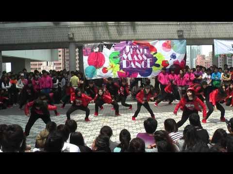 HKU Joint Hall Mass Dance 2012 - St. John's College, Wei Lun Hall, Lee Shau Kee Hall,