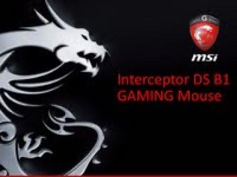 Мышь MSI Interceptor DS B1 USB Black (S12-0401250-EB5)