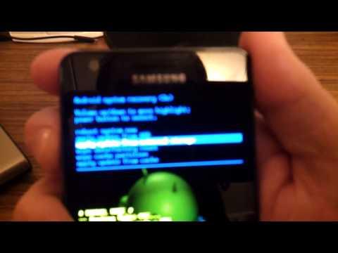 Как прошить Samsung Galaxy S2 GT-I9100 (официальную прошивку)