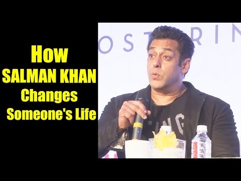 How Salman Khan Changes Someone's Life | Salman Khan's Secrets