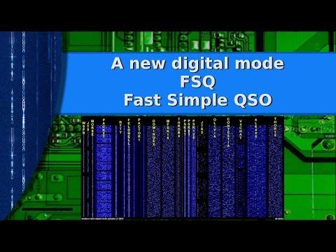 Ham Radio - FSQ a new digital chat mode