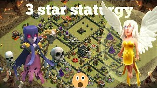 OMG!! BEST TH9 3 STAR ATTACK STRATEGY 2017 | Low Level Heroes Friendly | Clash of Clans |clasher666