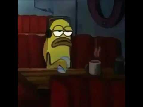 Spongebob Fish Gets Depressed As Fuck