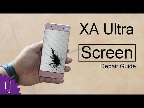 Sony Xperia XA Ultra LCD Assembly Repair Guide