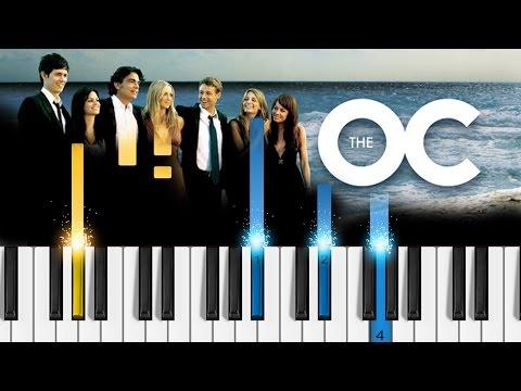 Phantom Planet - California (The OC theme song) - Piano Tutorial - How to play California on piano