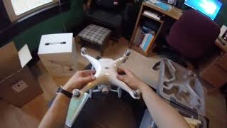 Phantom 4 DJI Refurbished Unboxing