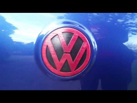3D Printed VW R32 MK5 Badge