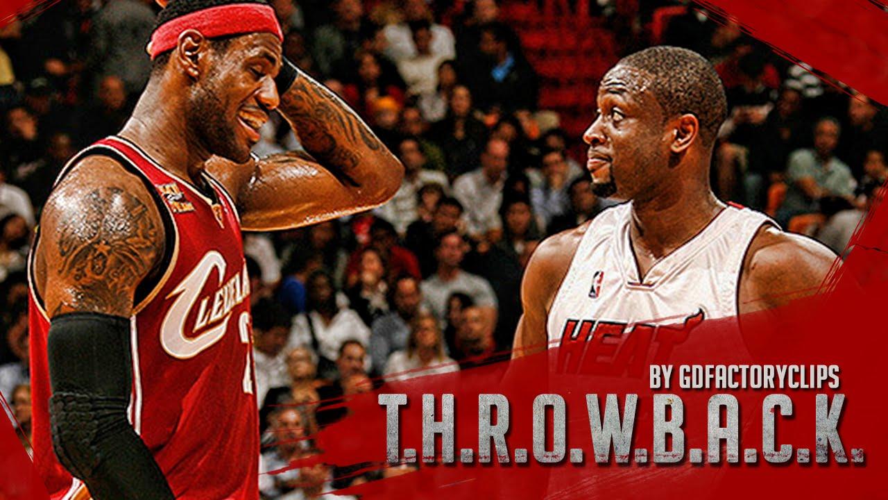 size 40 b7ade 53e8e Throwback: LeBron James vs Dwyane Wade Full Duel Highlights 2010.02.04  Cavaliers vs Heat - SICK!