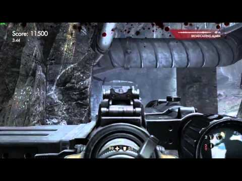Wolfenstein OLD BLOOD: uber gold challenge #5 Caves 30,000 points