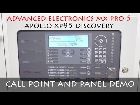 TESTING ADVANCED ELECTRONICS MX PRO 5 PANEL | APOLLO MCP | FIRE ALARM DEMO