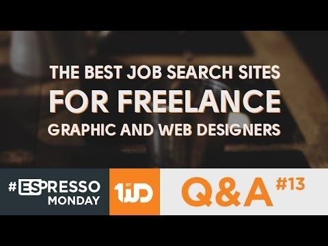 [Web Design Tutorial] The Best Job Search Sites For Freelance Graphic And Web Designers