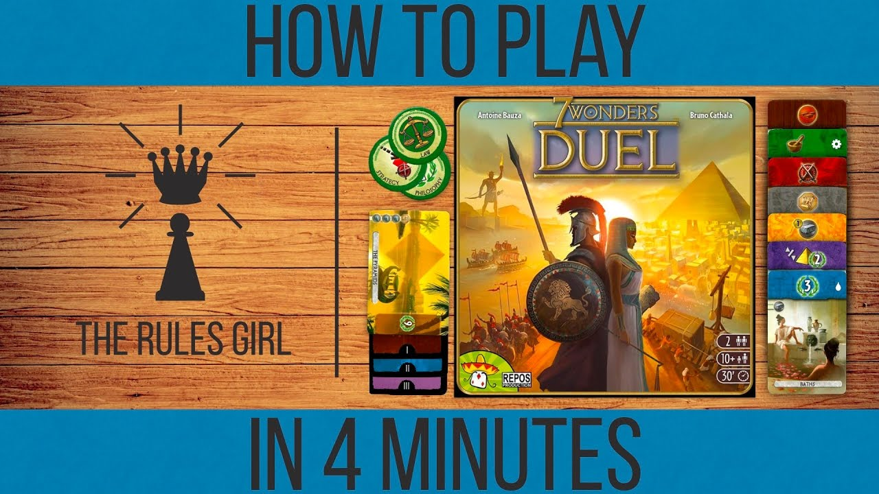 Amazon.com: Asmodee 7 Wonders: Duel: Toys & Games