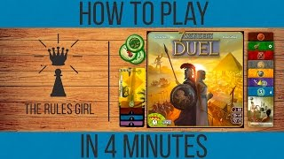 How to Play 7 Wonders Duel in 4 Minutes - The Rules Girl