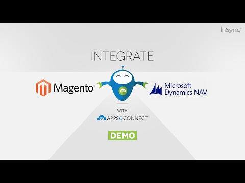 Microsoft Dynamics NAV (Navision) and Magento 2.0 Integration by APPSeCONNECT