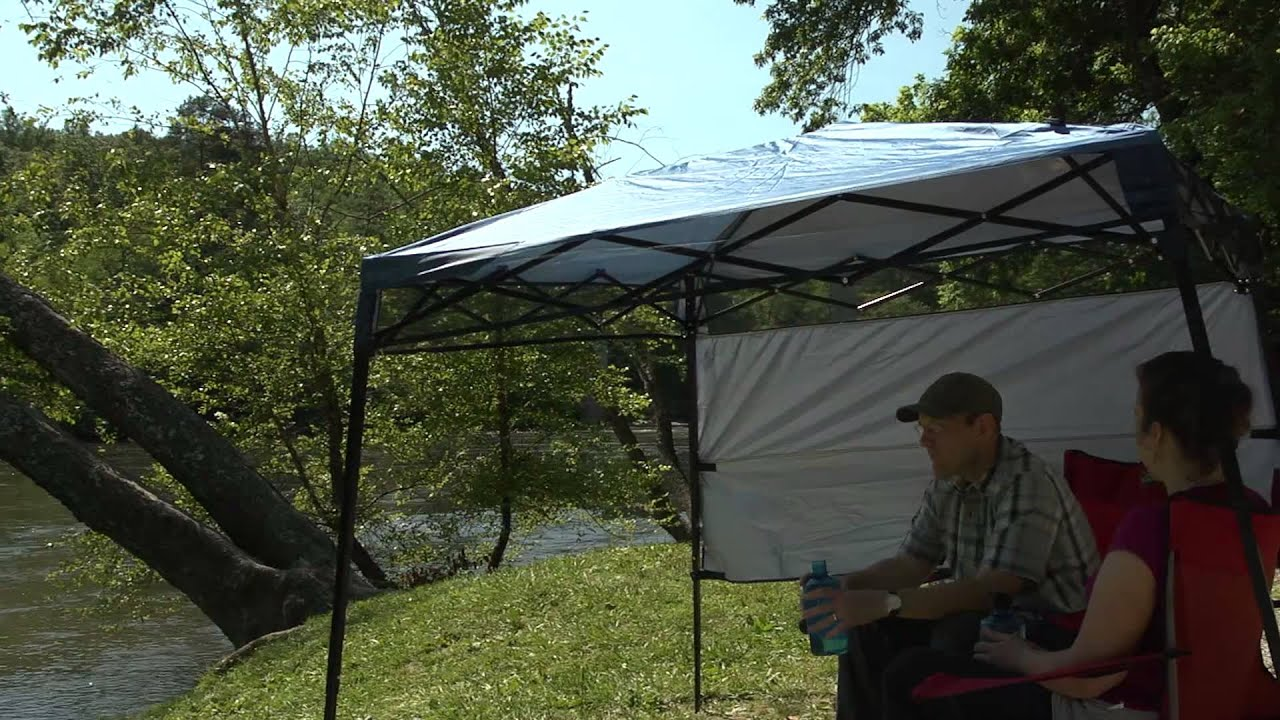 & Bravo Sports | Quik Shade GO Backpack Canopy - YouTube