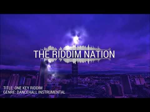Dancehall Riddim Instrumental 2017 - One Key Riddim - Hardcore ll Heavy Bass ll Dark Beat