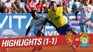 Resumen de Real Zaragoza vs UD Las Palmas (1-1)