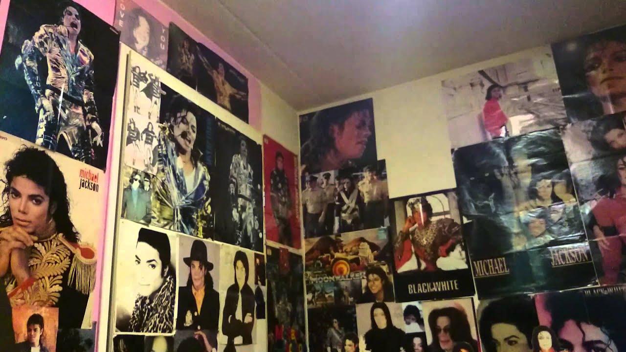 Michael Jackson Wallpaper For Bedroom My Michael Jackson Bedroom Youtube