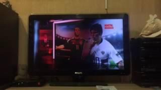 Дефект изображения телевизора