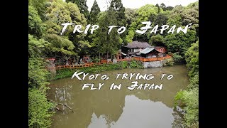 Trip to Japan: Kyoto, I got to fly the Mavic Air Drone.