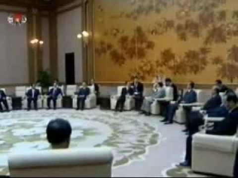 Kim Yong Nam Meets Wen Jiabao