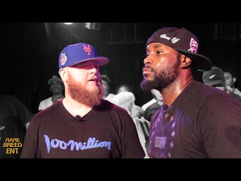 BIGG K VS SHOWOFF RAP BATTLE - RBE