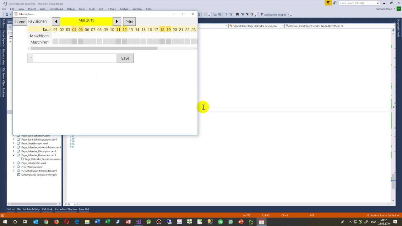 Add a Click-Event to a Button in Windows C# Xaml WPF UWP