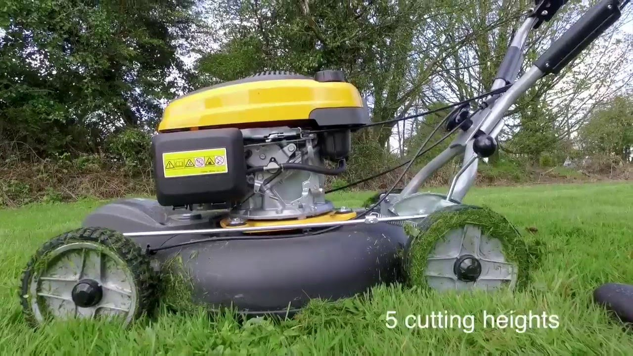 Stiga Self Propelled Mulching Lawnmower Multiclip Pro 53