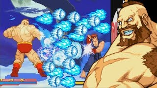 Street Fighter Alpha 2: Kouryu Edition (ARCADE CPS2) 1CC ZANGIEF Walkthrough (FULL GAMEPLAY)