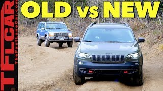 Old vs New Jeep Cherokee: How Much Has Off-Road Tech Improved in 28 Years?