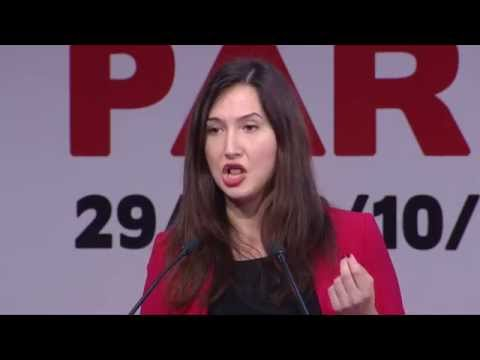 "Aida Hadzialic  ""We should welcome migrants not fear them"""