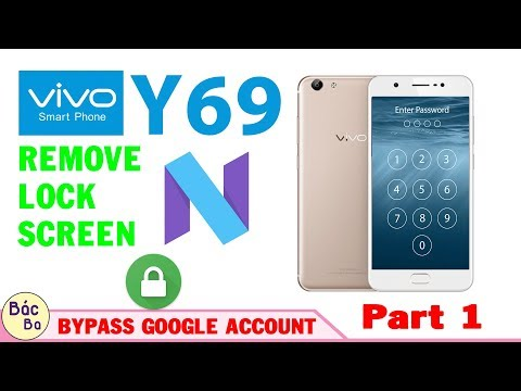 VIVO Y69 | Remove Lock Screen And Bypass...