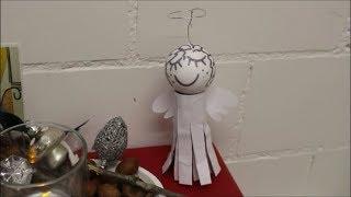 DIY: Engel aus WC Rolle basteln / Upcycling / Klorolle, Papierrolle