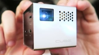 MOBILE PROJECTOR?! / RIF6 CUBE