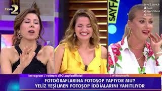2. Sayfa: Yeliz Yeşilmen fotoşop iddialarını yanıtladı!