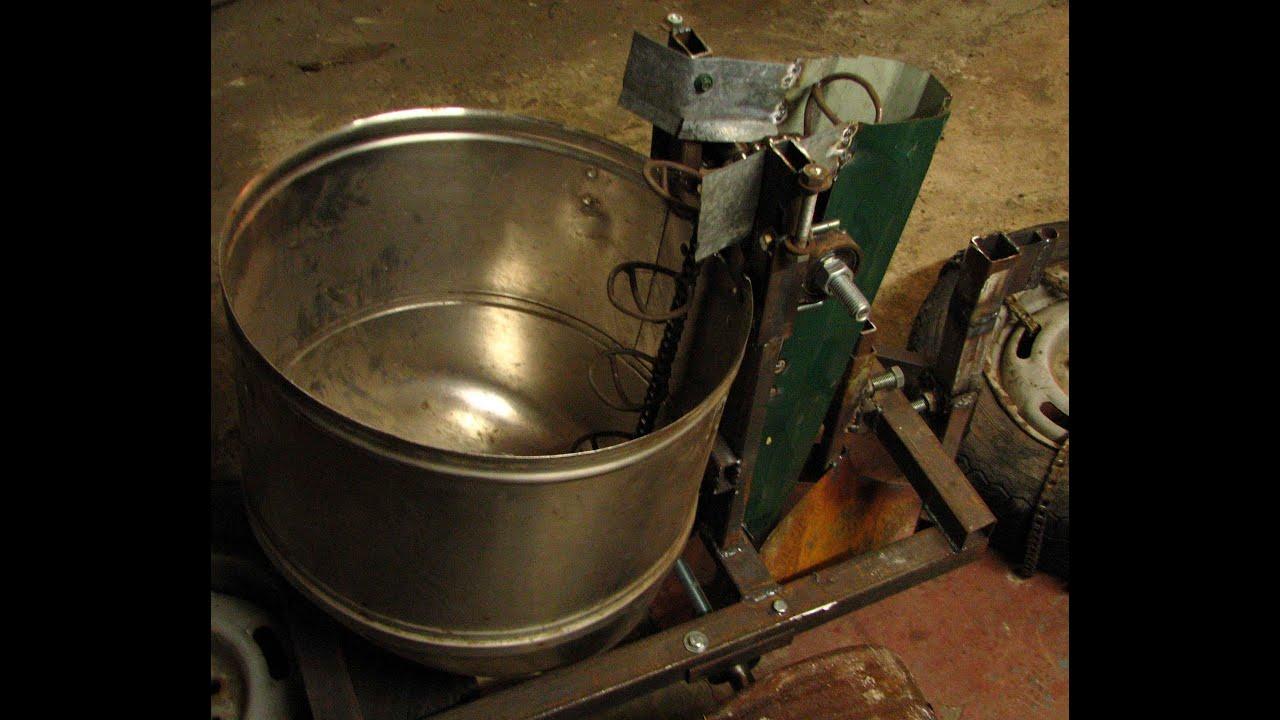 Картофелесажалка: размеры мотоблока