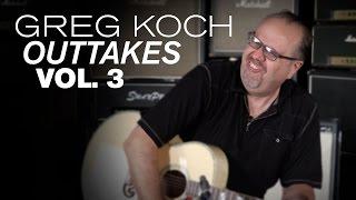 Greg Koch Outtakes Vol. 3  •  Wildwood Guitars
