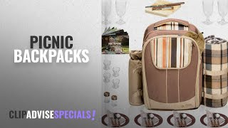 10 Best Picnic Backpacks [2018 Best Sellers]   Picnic Baskets, Tables & Accessories