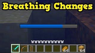 Minecraft PE / Xbox - Breath Bar & Mob B CHANGES