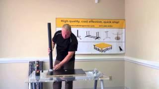 Value Table Legs Installation