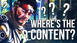Where's The Content? Apex Legends needs more!