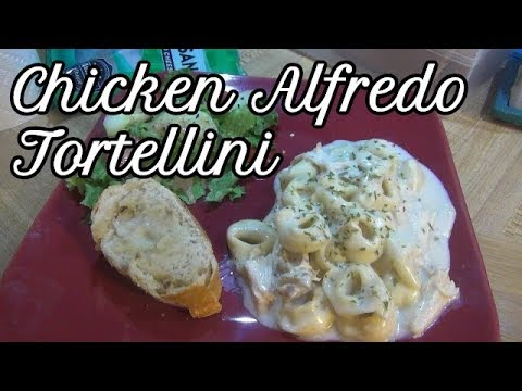 Crock-Pot Chicken Alfredo Tortellini