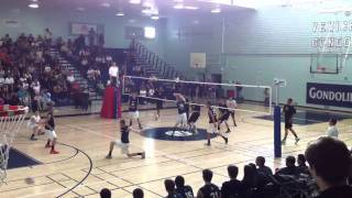 Granada vs. Palisades Volleyball City Championship 2011 Thumbnail