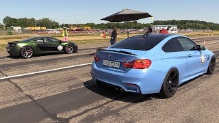 710HP BMW M4 F82 w/ Milltek Exhaust vs 720HP Mclaren 650S