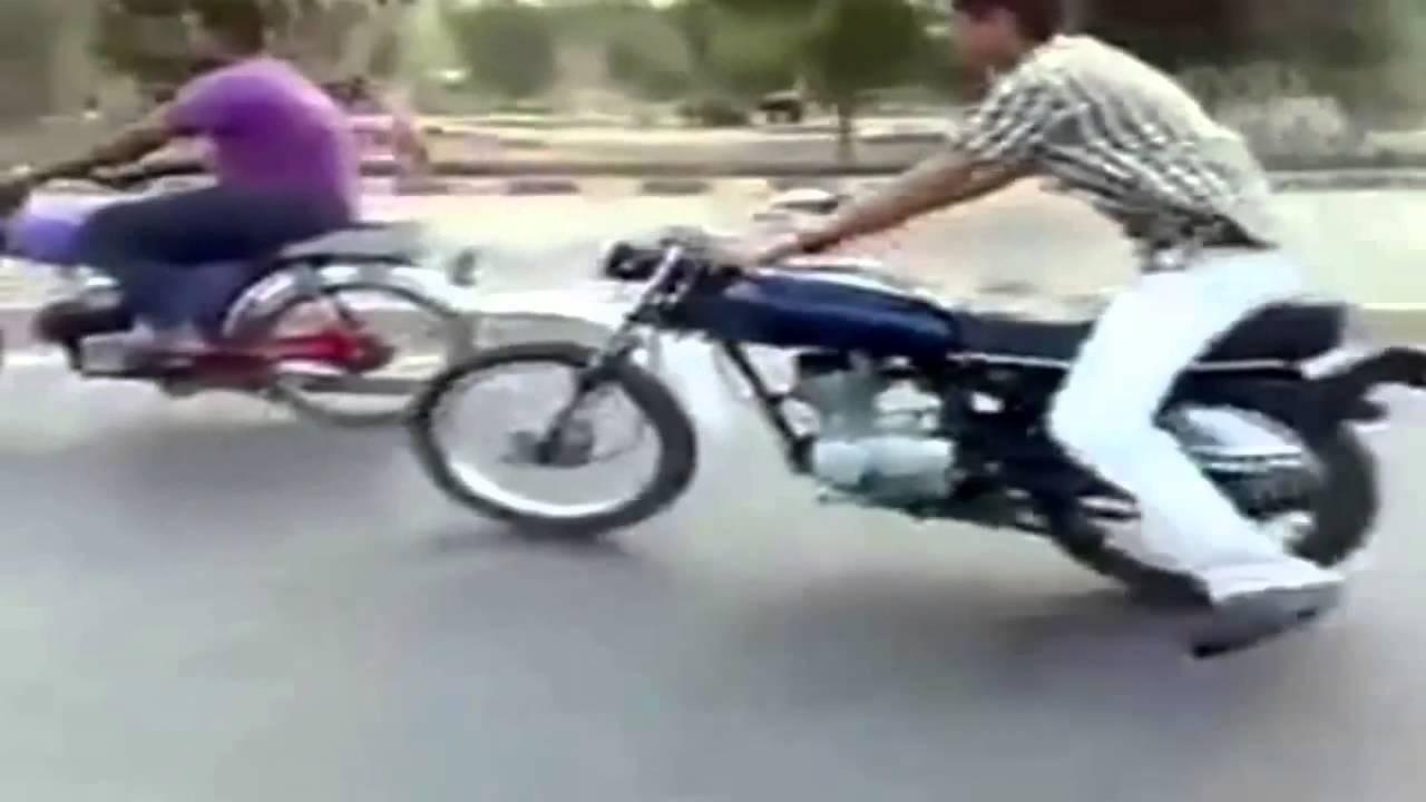 Super Kocak Aksi Standing Motor Lucu